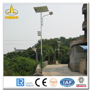 Steel Solar Powered Outdoor Lamp Post